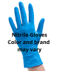 LARGE NITRILE GLOVES, PF, 100/BOX
